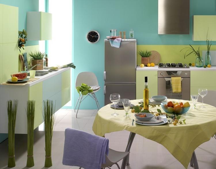 Peinture cuisine et combinaisons de couleurs en 57 idées