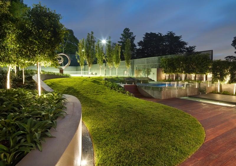 Cozy Spot Led Exterieur 45 Idees Sur L39eclairage De Jardin Moderne ...
