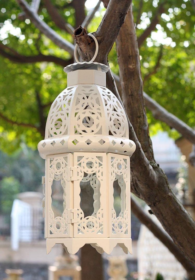Lanterne Marocaine Exterieur | Lanterne Bougie Marocaine Style Cage ...