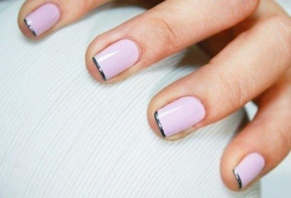 ongles-nail-art tendance manucure french discrète