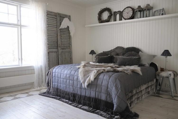 Chambre En Bois Blanc | Choisissez Un Lit En Cuir Pour Bien Meubler ...