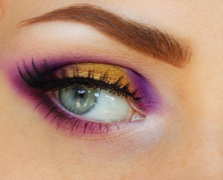 maquillage-yeux-idee-ete-fard-violet-orange-cils