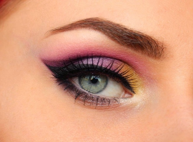 maquillage-yeux-idee-ete-violet-orange-eye-liner