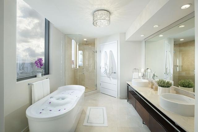 Tapeten Wohnzimmer Stein ~ Home Design und Möbel Ideen - badezimmer design massiv blox