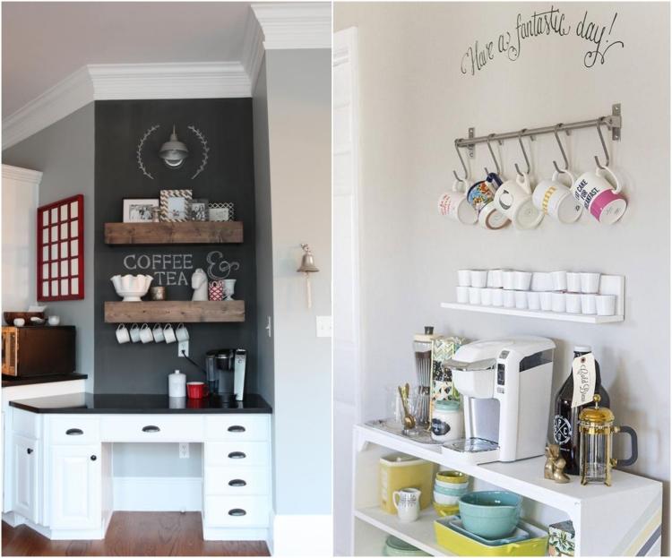 Idée déco cuisine pour les passionnés de café \u2013 25 exemples
