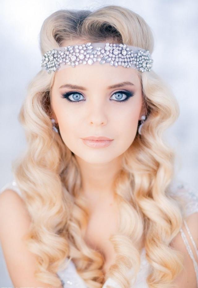 maquillage-mariée-naturel-crayon-yeux-noir-mascara-bandeau