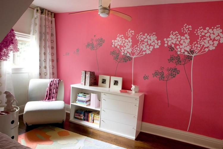 Deco Peinture Chambre Fille - Maison Design - Apsip