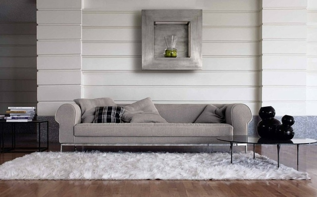 Ecksofa Gelb Salon Moderne En Couleur Neutre- 24 Inspirations Exquises!