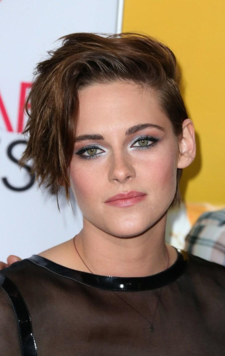comment-bien maquiller automne rouge lèvres saumon Kristen Stewart
