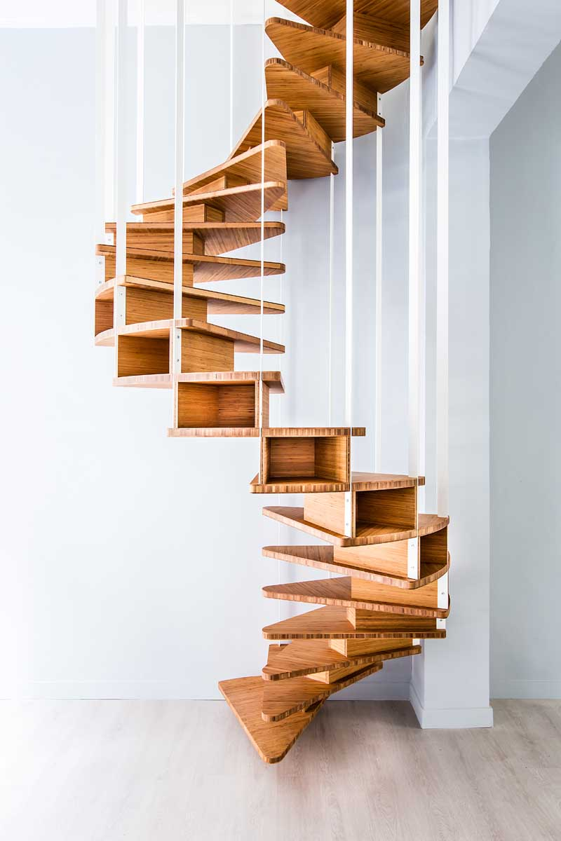 Escalier Metal Bois Design | Fabrication Escalier Metal Bois ...