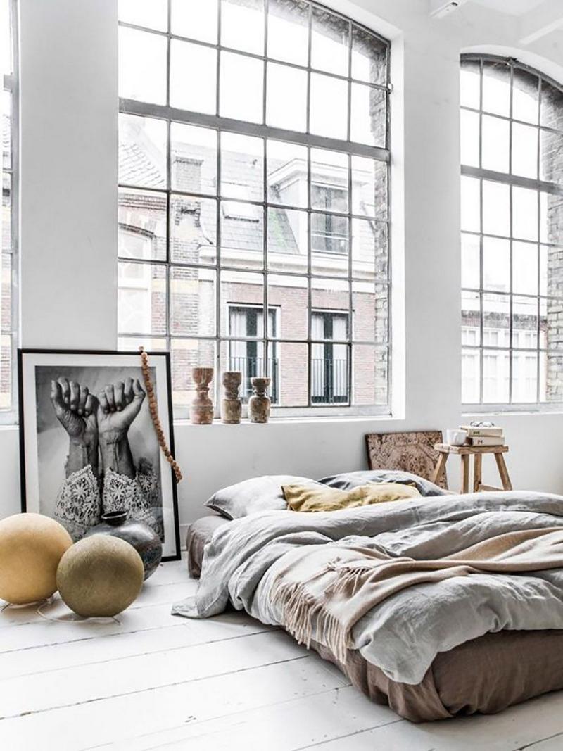 Deco Chambre Style Industriel | Gris De Maison Éclairage À Sejour ...