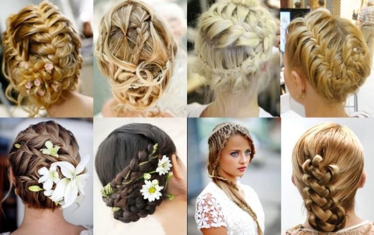 coiffure pour noël chignons-tressés-cheveux-longs
