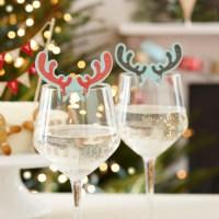 Dco Nol fait maison en verres  vin  23 ides originales