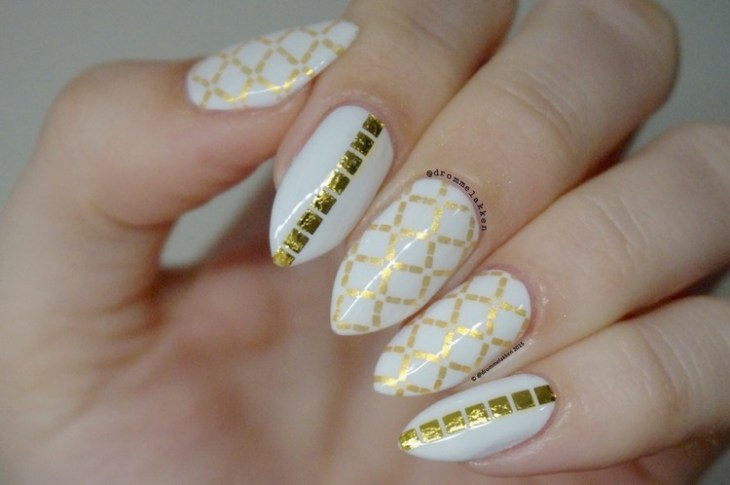 tatouages-éphémères-ongles-base-coat-blanc-manucure-amande