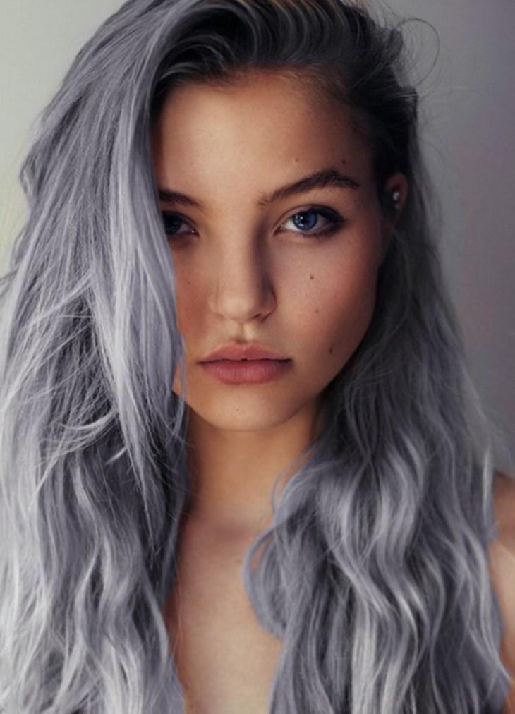 cheveux gris -lilas-nuance