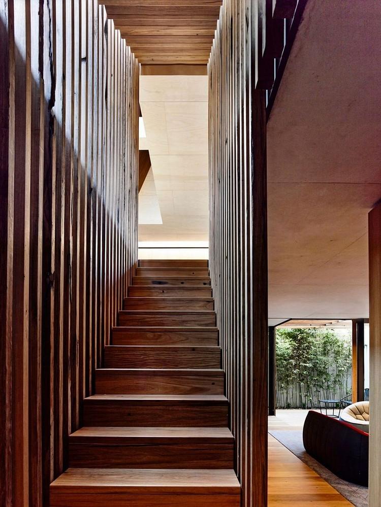 Deco Cage Escalier   Une Salle Familiale Au Sous-sol   Les Rénos D ...