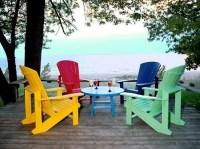 Fauteuils de jardin et coussins en couleurs- 21 ides fraches