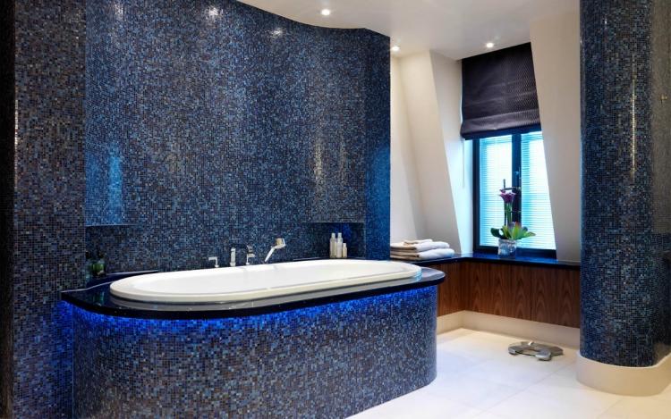 Salle de bain mosaique - idées et conseils en 23 photos cool !
