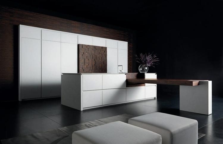 Cuisine design italienne par Toncelli en 40 photos top ! - Cuisine Design Avec Ilot Central