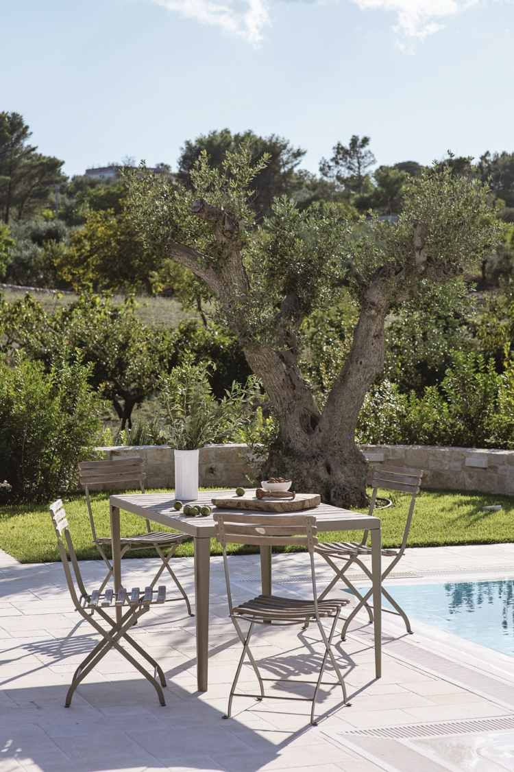Ensemble Table Et Chaise Exterieur Salon De Jardin Moderne – 7 Collections Exclusives Par Ethimo