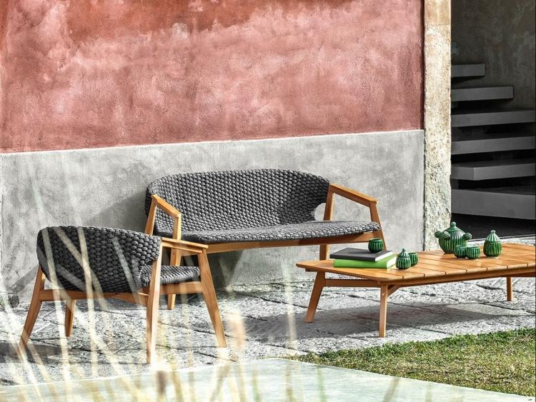 Table De Jardin Gris Anthracite Salon De Jardin Moderne – 7 Collections Exclusives Par Ethimo
