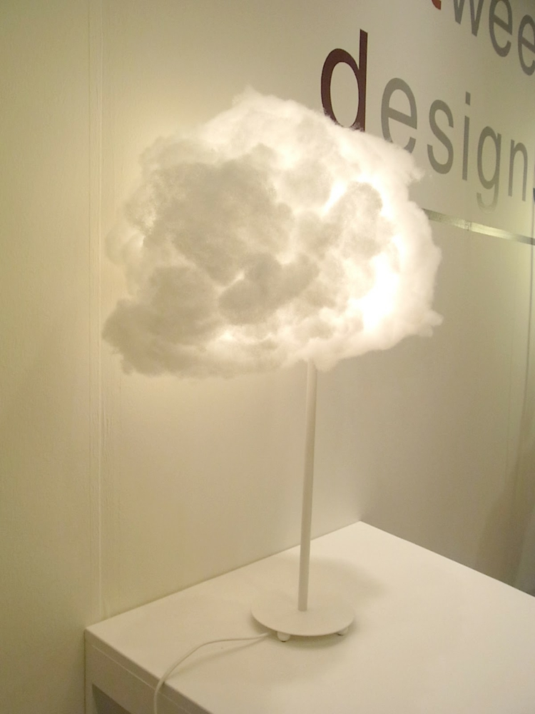 Lampe De Chevet Papier Lampe Nuage En Suspension Cloud à Faire Soi-même