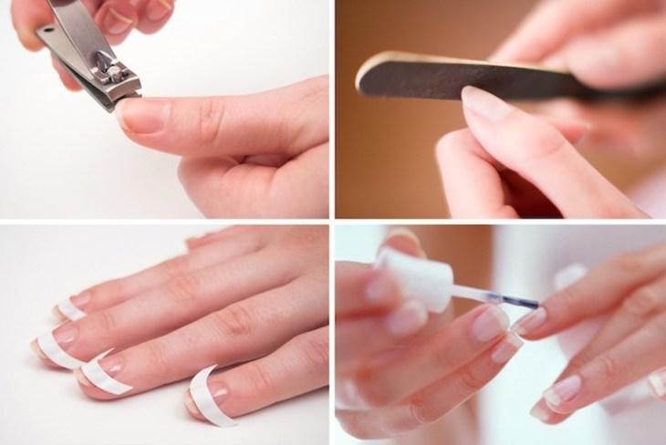 manucure rose-tendance-idées-conseils-entretien-ongles