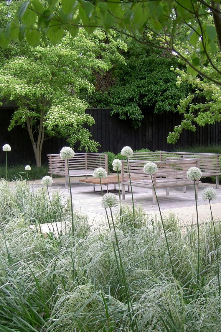 Décoration Jardin Naturel | Aménagement Jardin Contemporain En Style ...
