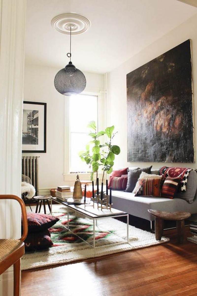Idee Salon Deco | Contemporain Pho Meubles Zen Idees Photos Mai ...