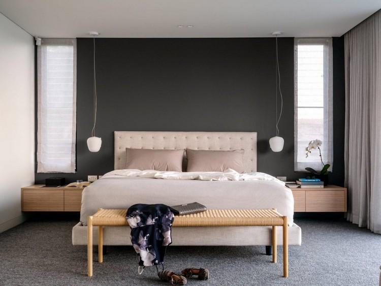 √ Chambre contemporaine au design original en 35 ides de