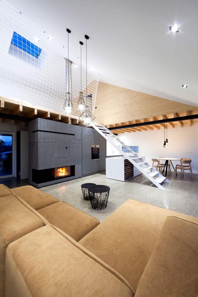 Mezzanine Moderne | Idée Déco Appartement Avec Mezzanine