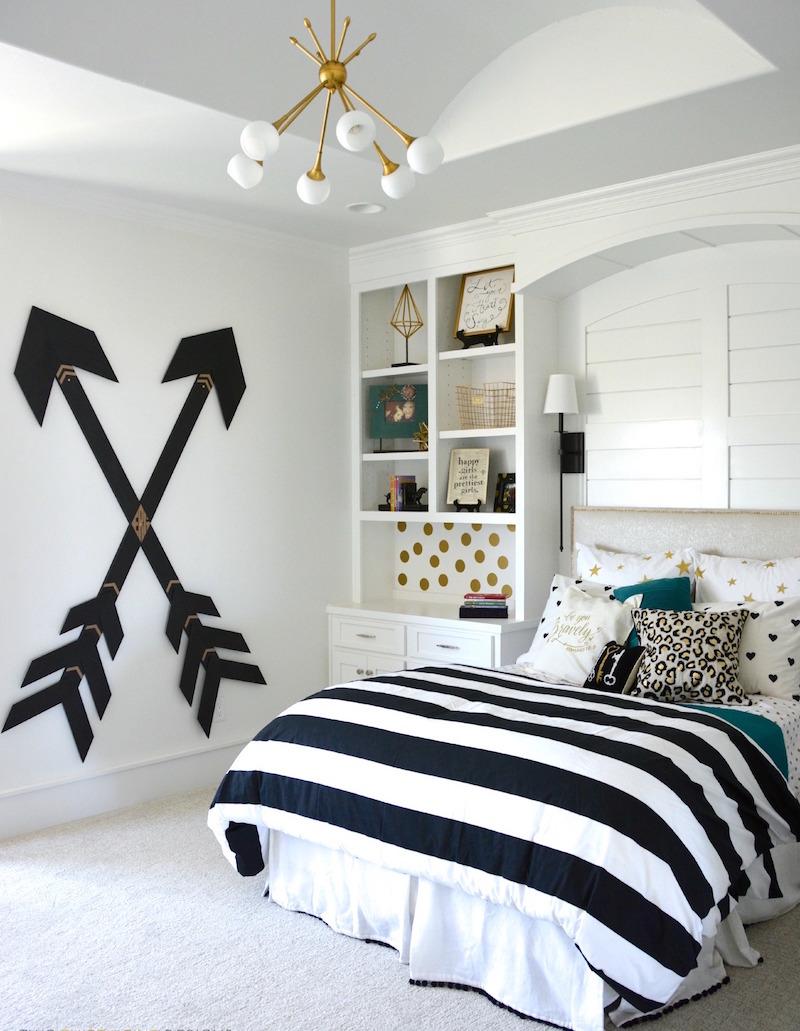 Décoration Chambre Noir Et Blanc Mobilier De Chambre Noir Et Blanc
