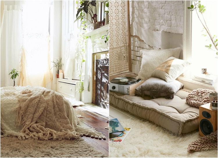 Chambre Boheme Blanche Et Pleine De Charme Pour Un Chez