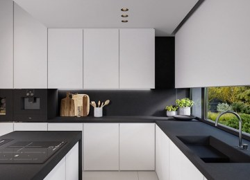 Cuisines Noires | Page Finition Cuisine Kungsbacka Noir Ikea