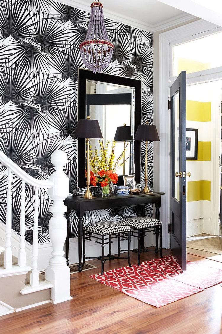 Decoration Petite Entree Appartement | Tendance Une Entrée Qui Fait ...