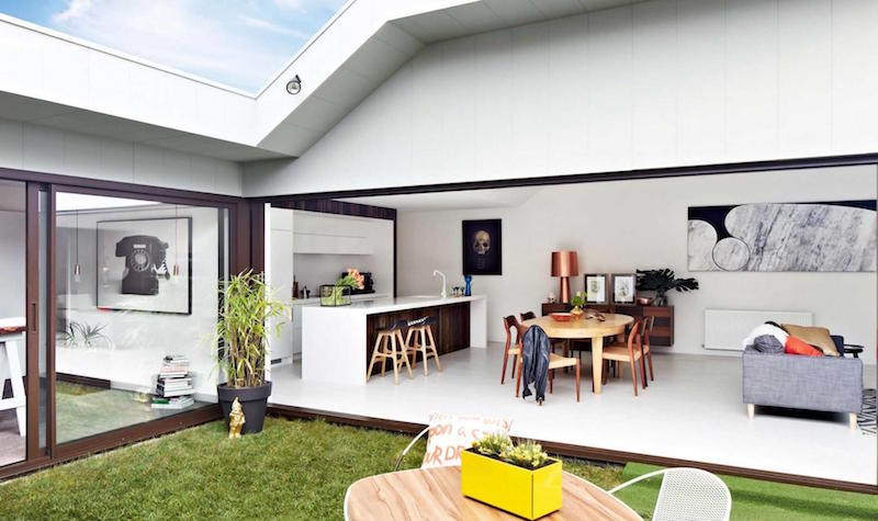 Cuisine ouverte sur salon en 40 nouvelles idées du moderne au rustique ! - Cuisine Ouverte Sur Salle A Manger Et Salon