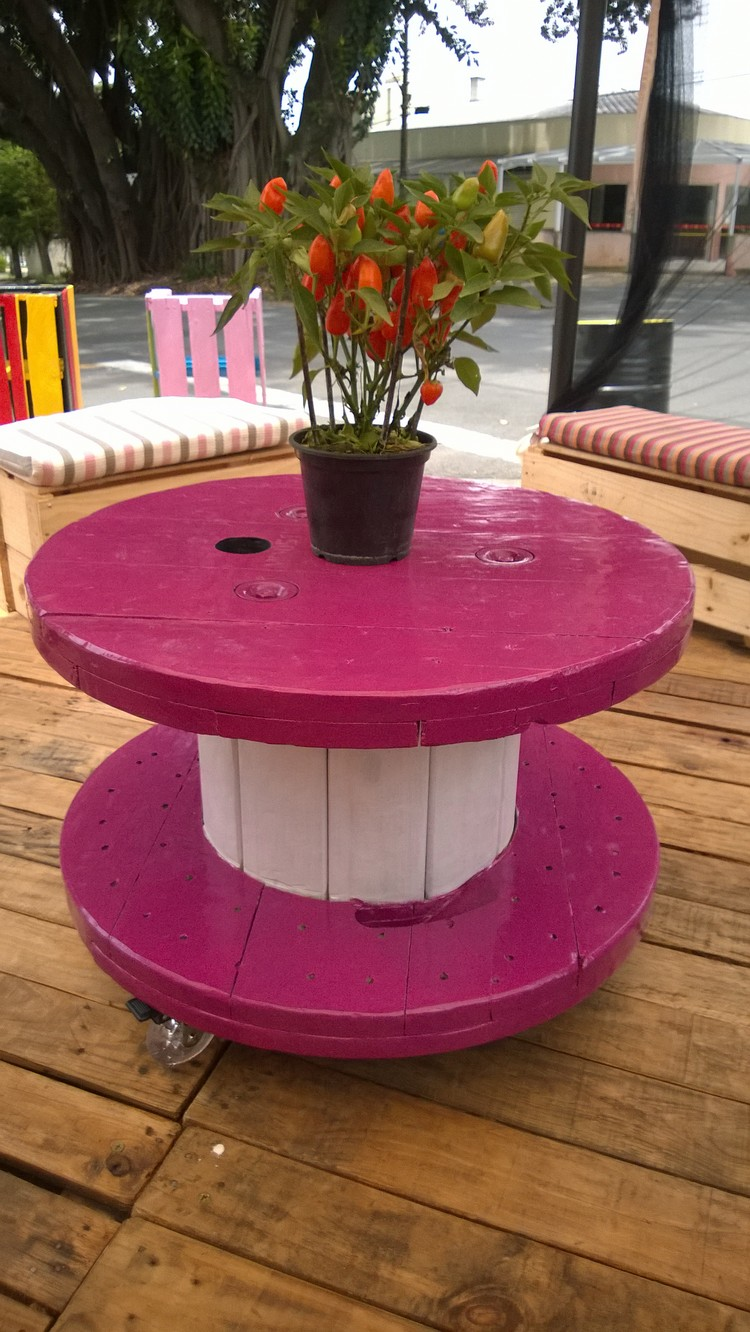 Salon De Jardin Touret Touret Table Basse Et Table D Appoint En 30 Idées Diy