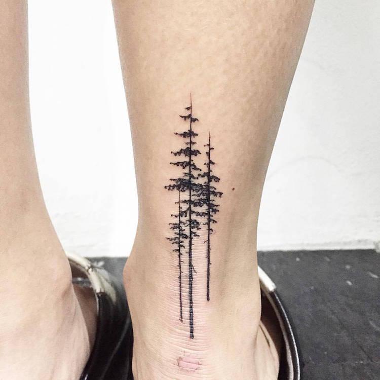 Signification Tatouage Arbre