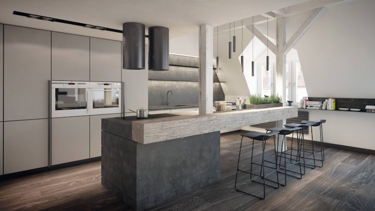 Zoom sur les points forts de la cuisine moderne avec îlot en 24 images - Cuisine Moderne Avec Ilot