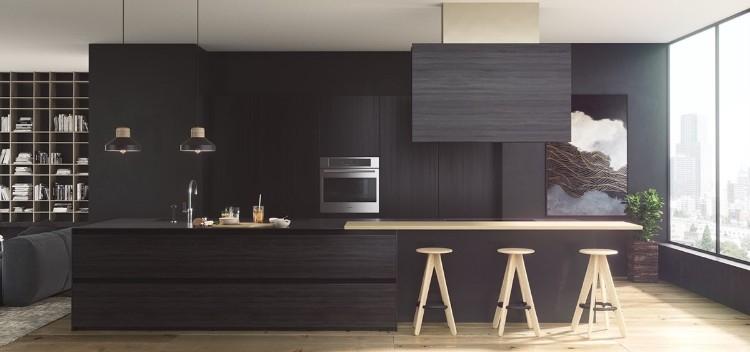 Îlot central design en 50+ inspirations splendides pour relooker la - Cuisine Design Avec Ilot Central