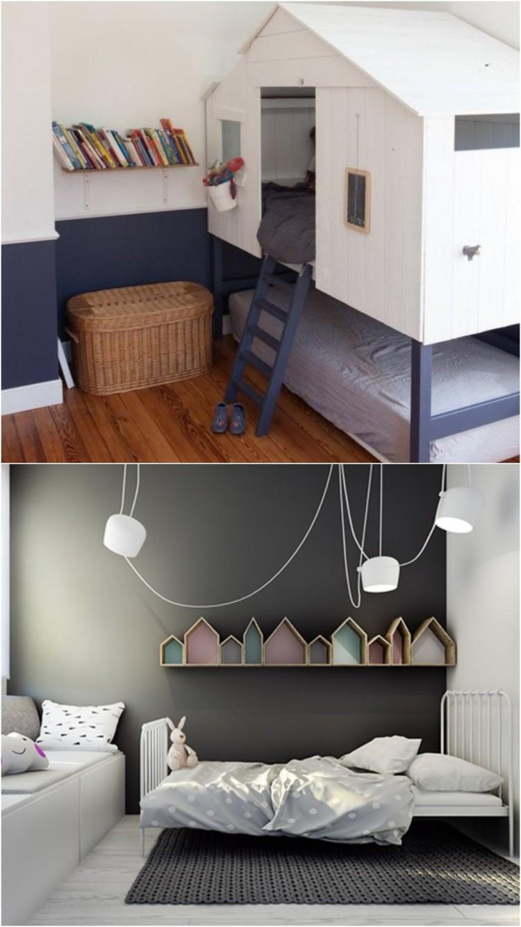 Aménagement Petit Espace Chambre | Amenagement Salle De Bain Petit ...
