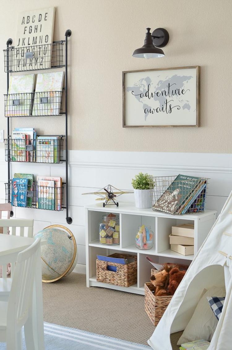 Chambre Montessori 2 Ans | Lit Lit Enfant 2 Ans Belle Decoration ...