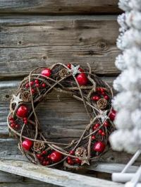 20 rustic Christmas decoration ideas for a stylish country ...