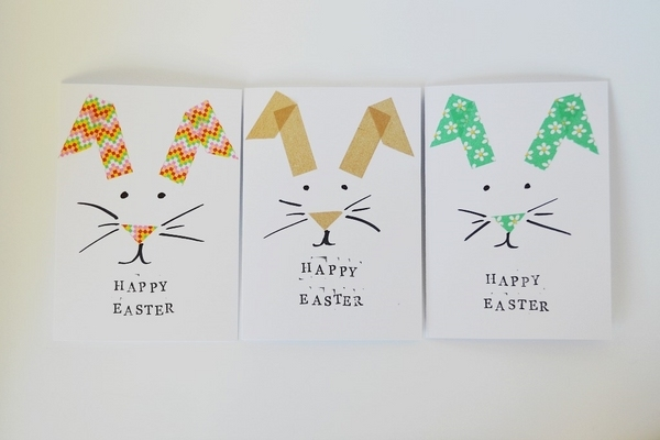 105 fantastic Easter cards ideas - easy crafts for kids and adults