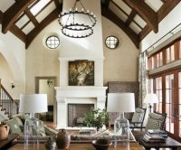 65 unique cathedral and vaulted ceiling designs in living ...