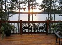 Choosing a balcony railings - stainless steel, wood or glass?