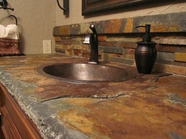 The Beauty Of Natural Materials Slate Countertops For