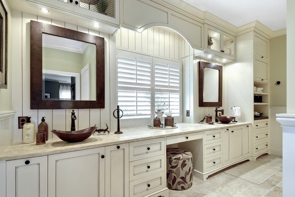 Antique Bronze Bathroom Mirrors Vessel Sinks Are The Hot Trend In Bathroom Design