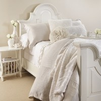 Luxury bedding in white  unique bedrooms with an airy look