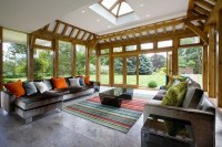 Modern sunrooms - 25 ideas how to create an oasis at home